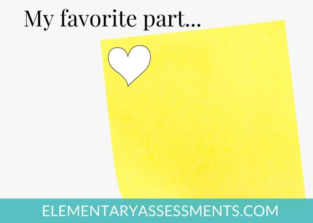 using post it notes for reading comprehension