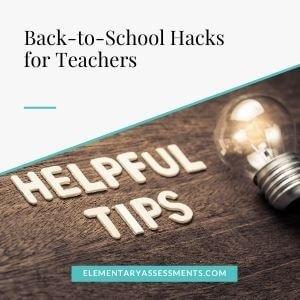 back to school hacks for teachers