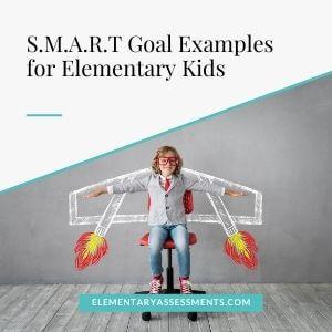 smart goal examples for elementary kids