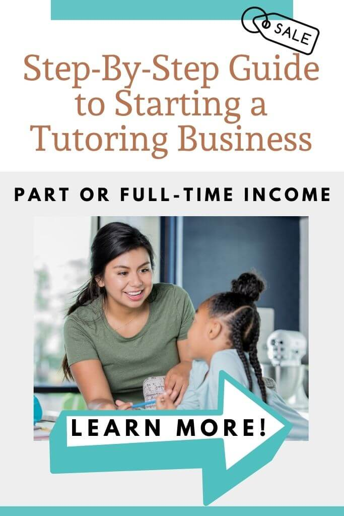 how to start a tutoring business ebook