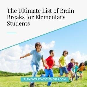 brain breaks for 5th graders elementary