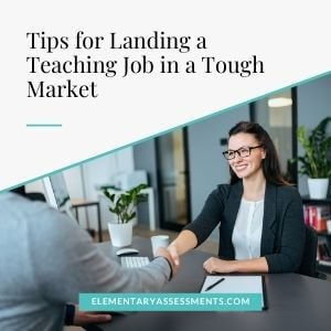 i can't find a teaching job what to do?