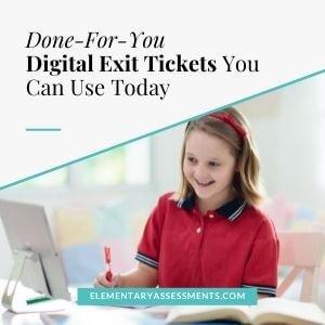 digital exit tickets
