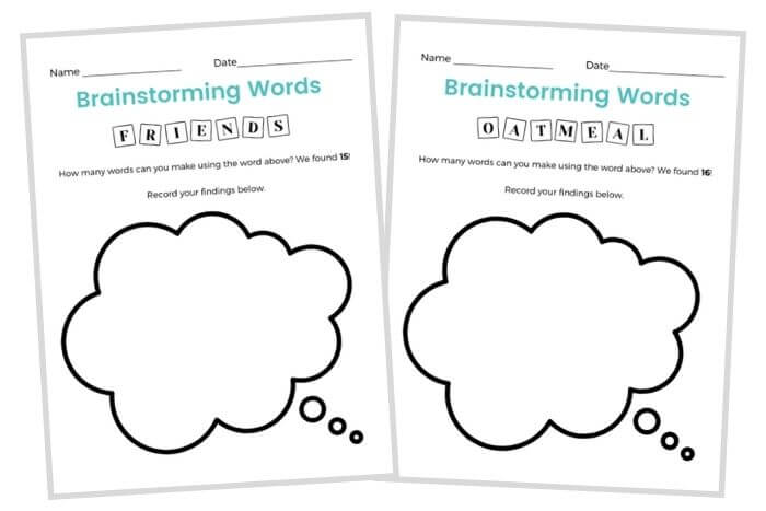 early finishers activities word work spelling language arts