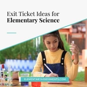 exit tickets for science