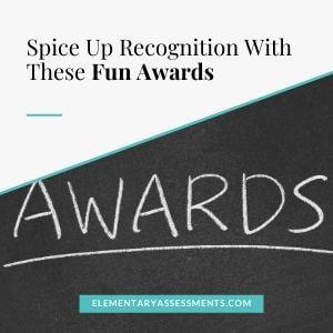 fun awards for kids
