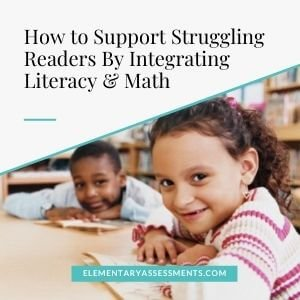 how to integrate literacy and math
