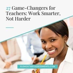 how to work smarter not harder as a teacher