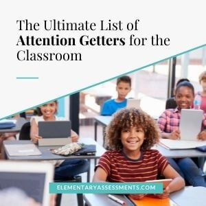 list of attention getters for classroom