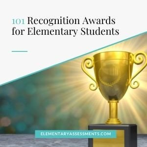 list of awards for elementary students