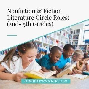 literature circle roles 5th and 4th graders