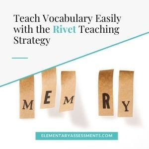 rivet reading strategy
