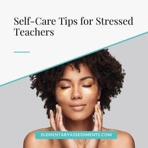 self care tips for teachers