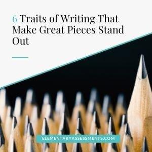 six traits of writing elementary