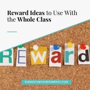 whole class reward ideas